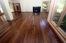 mahogany scraped hardwood floor contemporary living