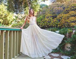 flowing wedding dresses beautiful boho wedding dresses from dreamers