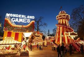 hyde park winter 2017 fairground ride hire and