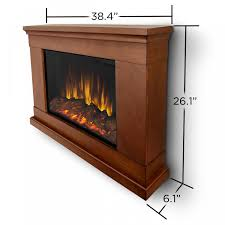 real flame jackson 38 inch slimline wall mount electric fireplace