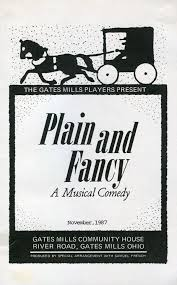 Plain And Fancy Gates Mills Players Inc Plain And Fancy