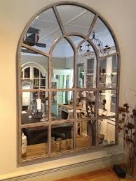 Ideas Design For Arched Window Mirror Arched Window Pane Mirror White Pertaining To Wall Idea 6