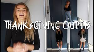 how to dress for thanksgiving dinner 3 simple for thanksgiving weekend allegralouise youtube