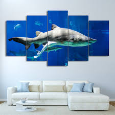 Posters Home Decor Online Get Cheap Shark Posters Aliexpress Com Alibaba Group