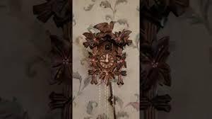 Authentic Cuckoo Clocks Anton Schneider Cuckoo Clock Black Forest Germany Youtube