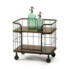 side table on casters farmhouse wood cart and side table on wheels attractive with 5