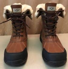 ugg rudyard sale ugg australia s winter leather medium d m boots ebay
