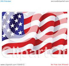 american flag waving clipart 2139192
