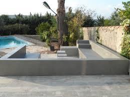 cuisine exterieure beton beton cire exterieur table pour newsindo co