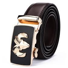 designer belts genuine leather belt gold automatic belt buckle luxury metal