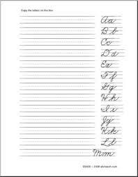 best 25 practice cursive ideas on pinterest cursive handwriting