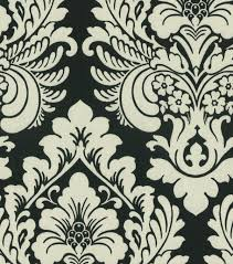 home decor print fabric waverly duchess damask onyx joann