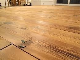 installing the antique pine flooring pretty handy