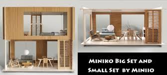 Modern Doll House Furniture by Modern Mini Houses