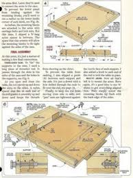 Drafting Table Plans Knockdown Drafting Table Plans Workshop Solutions Plans Tips