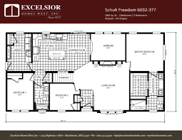 schult freedom 6032 377 excelsior homes west inc