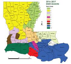 Map Of Parishes In Louisiana by Big Changes Likely For Louisiana U0027s 2017 Hunting Seasons Nola Com