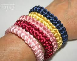 bracelet macrame images Easy macram bracelets may arts wholesale ribbon company jpg