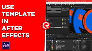 how to use template in after effects free after effects template