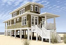 narrow lot cottage plans elevated raised piling and stilt house plans coastal home