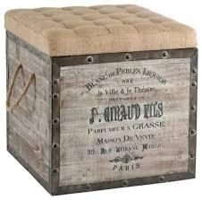 ottoman stow chocolate 17 leather storage ottoman leather look
