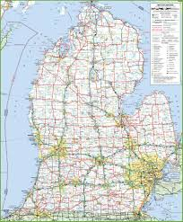 Printable Map Of Wisconsin by Map Of Lower Peninsula Of Michigan
