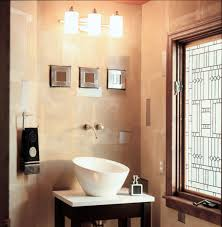 Half Bathroom Decor Ideas Half Bath Orange With Lamp Decor Ewdinteriors