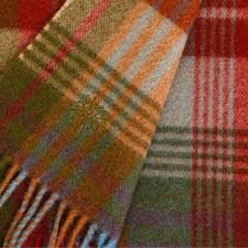 buy mulberry home ancient tartan lambswool blanket 155x180cm amara