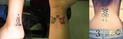 collection of 25 lovely bows wrist tattoos