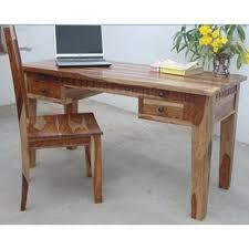 Sheesham Computer Desk Sheesham Wooden Desks You Ll Wayfair