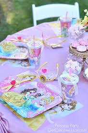Disney Princess Party Decorations Disney Princess Party With Belle Part 2 Creative Juice