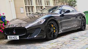 maserati blacked out chrome blue maserati granturismo mc stradale os 1334x750