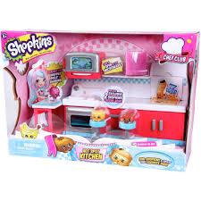 Kitchen Set Toys For Girls Shopkins Chef Club Spot Kitchen Walmart Com