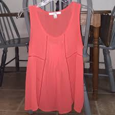 light pink tank top forever 21 semi sheer blouse red light weight semi sheer tank top forever 21