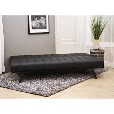 Futon Leather Sofa Bed Abbyson Milan Futon Sleeper Sofa Bed Free Shipping Today