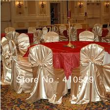 Wholesale Wedding Chair Covers Free Shipping Wedding Chair Covers Satin Chair Cover Gold Chair