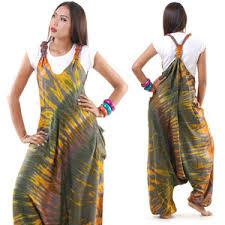 hippie jumpsuit hippie batik jumper jumpsuit harem overall purple gree