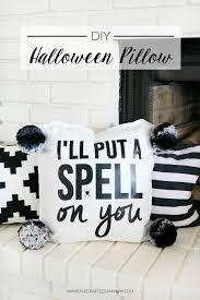 diy halloween pillow eighteen25 bloglovin u0027