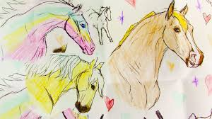 breyer fan mail 4 mini whinnies horse drawings special gifts