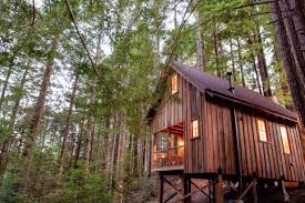 Airbnb Tiny House Isolated Redwood Tiny House Offers A Cozy Escape From The Noisy World