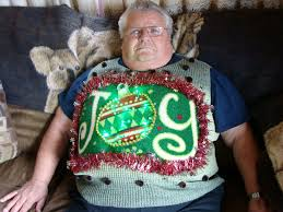 motorcycle christmas sweaters