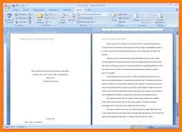 Sample Apa Essay Format Sample Apa Research Paper Art Resumes