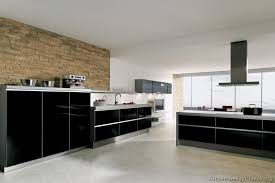 stylish modern black kitchen cabinets pictures of kitchens modern