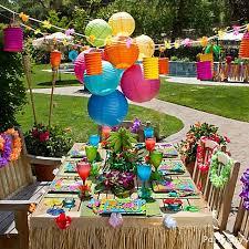 luau party decorations my hubs 50th birthday party luau party patios and decoration