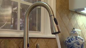 touchless faucets kitchen moen motionsense kitchen faucet today s homeowner