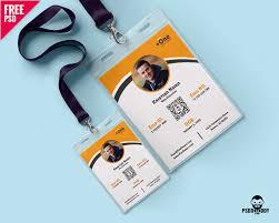 download photo identity card template psd psddaddy com