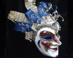 venetian jester mask joker mask jester masquerade mask venetian mask