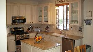 Redoing Kitchen Cabinets Yourself by Painting Oak Cabinets White Before And After Floor Decoration