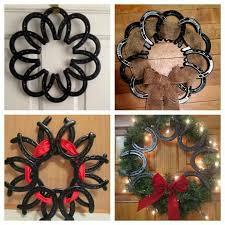 best 25 horseshoe wreath ideas on shoes