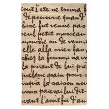 Home Decorators Coll by Rugs With Script Writing Creative Rugs Decoration